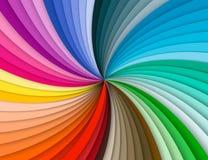 Fond en spirale coloré d'arc-en-ciel illustration stock