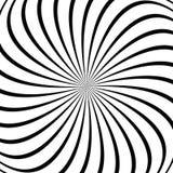 Fond en spirale - dirigez la conception de tordre des rayons Photos stock
