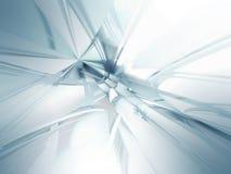 Fond en verre abstrait pour le web design Photos libres de droits