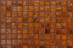 Fond en verre brillant de tuiles de mosaïque images stock