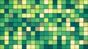 Fond en verre de mosaïque de tuiles vertes Images stock