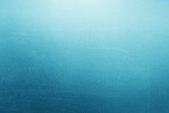 Fond en verre givré de bleu, texture Photographie stock libre de droits