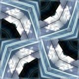 Fond en verre sans joint 7 de configuration Photographie stock libre de droits
