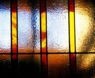 Fond en verre souillé Images libres de droits