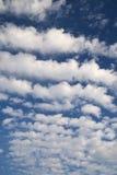 Fond ensoleillé de ciel Photos libres de droits