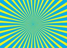 Fond ensoleillé Modèle de Soleil Levant Illustration d'abrégé sur rayure de vecteur Images libres de droits
