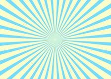 Fond ensoleillé Modèle de Soleil Levant Illustration d'abrégé sur rayure de vecteur sunburst Image stock