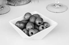 Fond espagnol d'olives Photo libre de droits