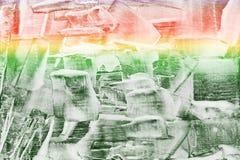 Fond essuyé frotté par craie colorée Image libre de droits