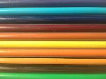 Fond et bannière en bois colorés de texture Images libres de droits