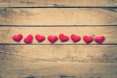 Fond et coeurs de jour de valentines avec l'espace Photographie stock libre de droits
