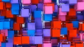 Fond et couleurs abstraits Images libres de droits