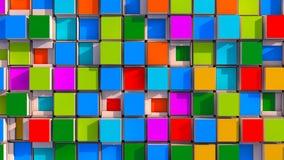 Fond et couleurs abstraits Photos stock