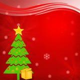 Fond et saison #6 de salutation de Noël Photographie stock