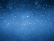 Fond et texture bleus d'abrégé sur bokeh Photos stock