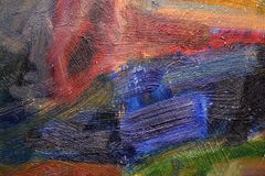 Fond et texture colorés d'art peints par résumé Photos stock