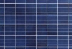Fond et texture de panneau de pile solaire Photos stock