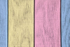 Fond et texture en bois de vintage avec la peinture d'épluchage Photographie stock