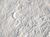 Fond extérieur de neige Photo stock