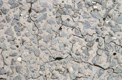 Fond extérieur de texture de plancher de pierre de fente de plan rapproché Photos libres de droits