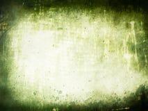 Fond extérieur texturisé vert grunge Images stock