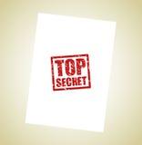 Fond extrêmement secret de timbre Photo stock