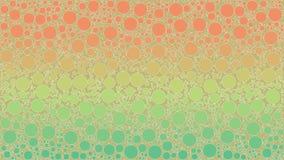 Fond fait d'un gradient et des formes rondes Image libre de droits