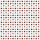Fond fait de formes géométriques Image stock