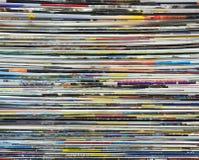Fond fait de magazines photo stock
