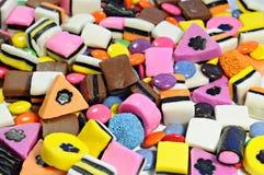 Fond fait de sucrerie colorée Photos stock