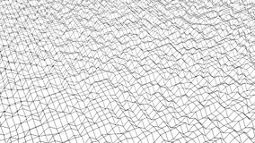 Fond fait une boucle Animated de maille polygonale 3d rendent illustration de vecteur