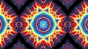 Fond fait une boucle coloré abstrait psychédélique illustration de vecteur