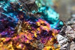 Fond fantastique, métal d'or (grande collection) Photo stock