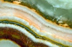 Fond fantastique, magie d'une pierre, roche en cristal Image libre de droits