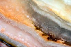 Fond fantastique, magie d'une pierre, roche en cristal Photo stock