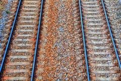 Fond ferroviaire dans HDR Image libre de droits