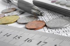 Fond financier photographie stock libre de droits