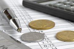 Fond financier image libre de droits