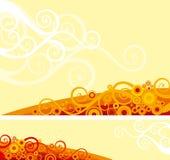 Fond fleuri Illustration Libre de Droits