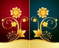 Fond floral élégant Photographie stock libre de droits