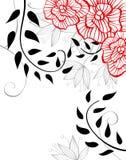 Fond floral élégant Photographie stock