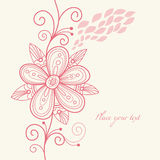 Fond floral illustration libre de droits