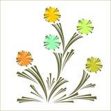 Fond floral Photos libres de droits