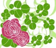 Fond floral. Photo libre de droits