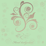 Fond floral Image stock