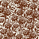 Fond floral. illustration stock