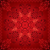 Fond floral abstrait, éléments pour la conception, vecteur Image libre de droits