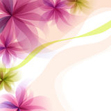 Fond floral abstrait Image stock