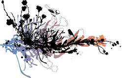 Fond floral abstrait Photos stock