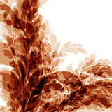 Fond floral abstrait Images stock